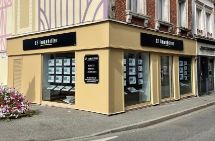 Photo de notre agence immobiliere a BERNAY
