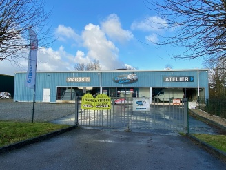 Location  BERNAY local commercial 7 pieces, 530m2 habitables, a BERNAY